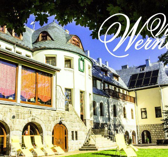 Hotel Villa Wernera z zewnątrz
