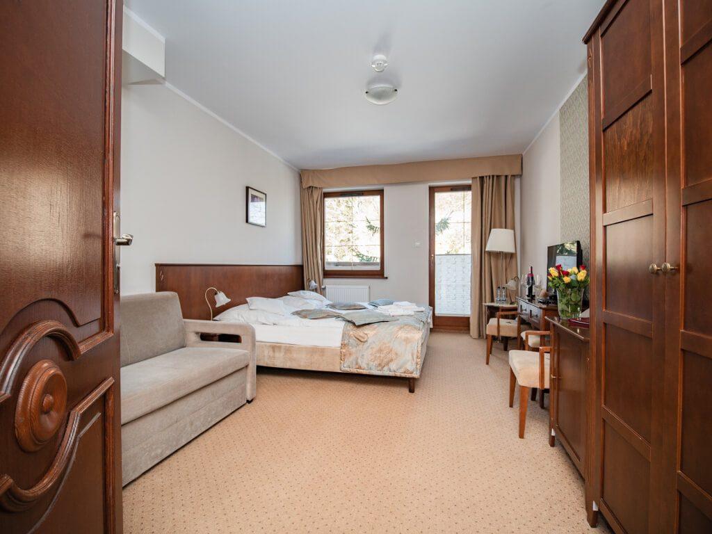 pokoje w hotelu