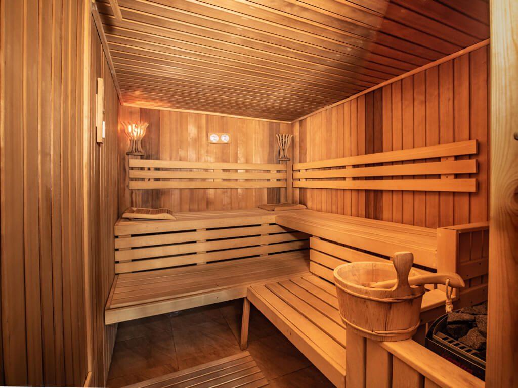 sauna w hotelu
