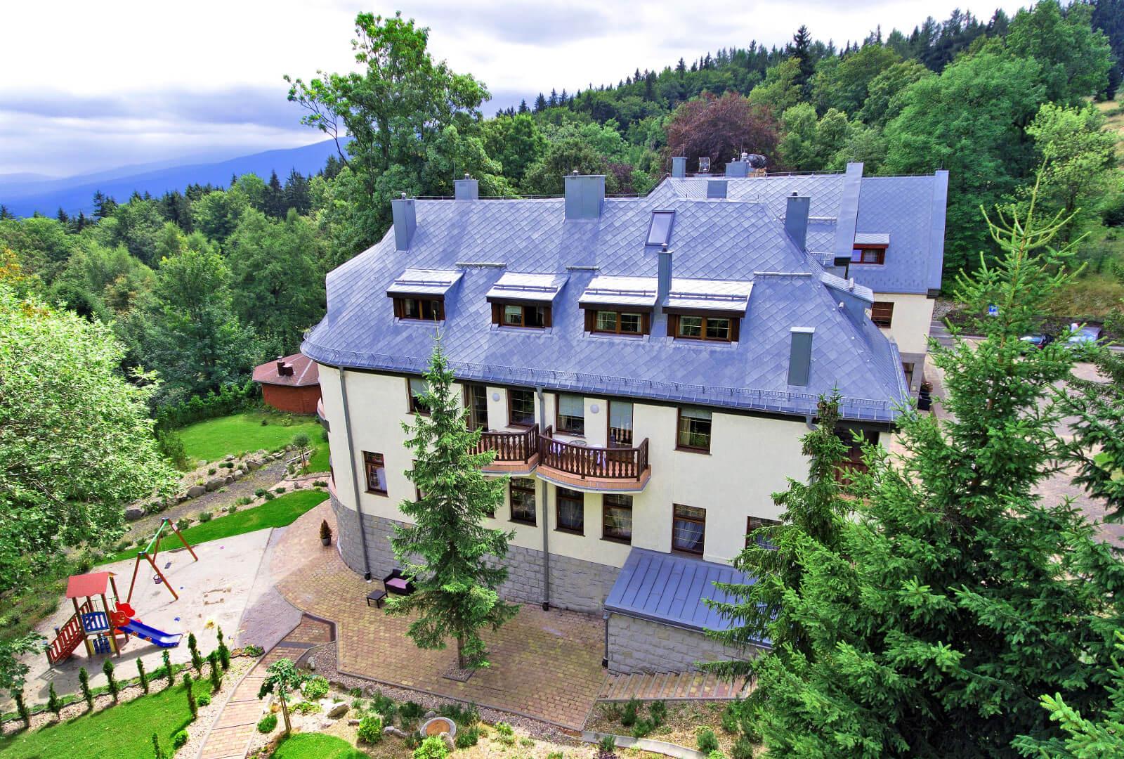 historia hotelu villa wernera
